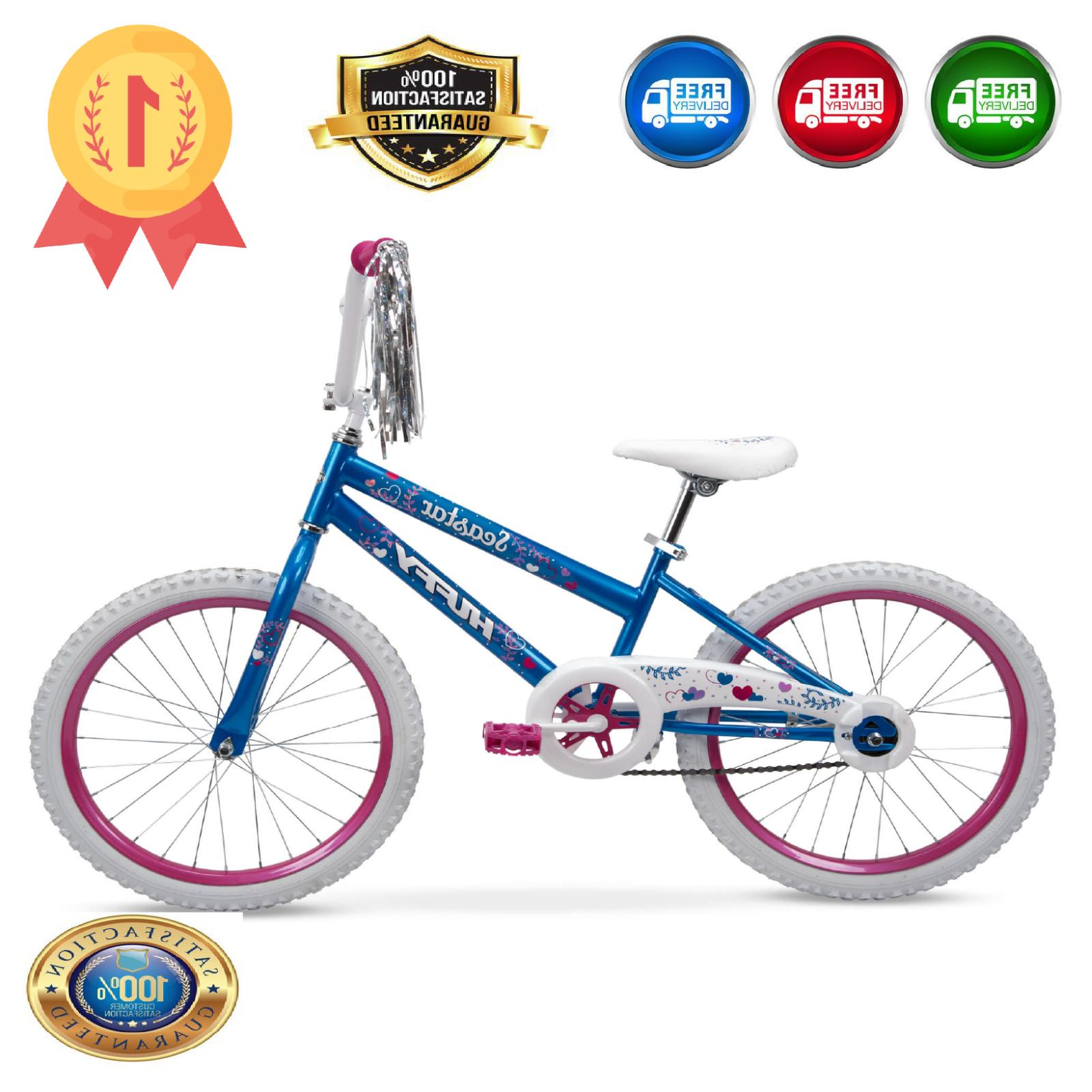 Huffy 20-Inch Star Girls' Bike, and Pink