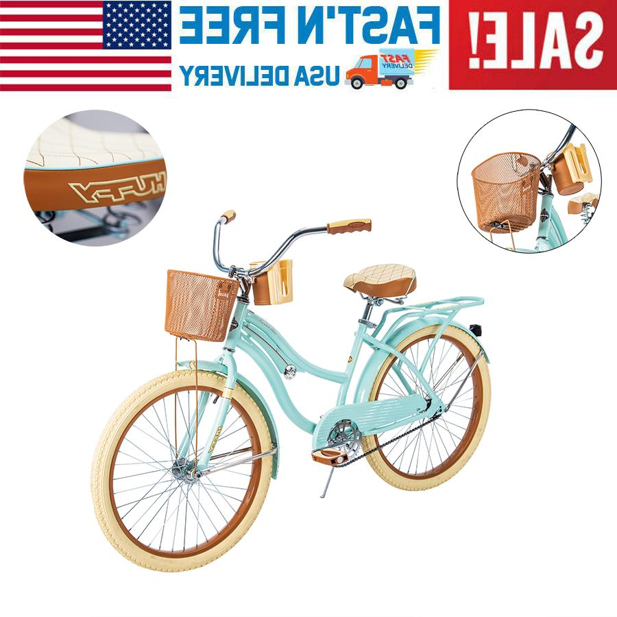 huffy 24 womens cruiser bike with perfect