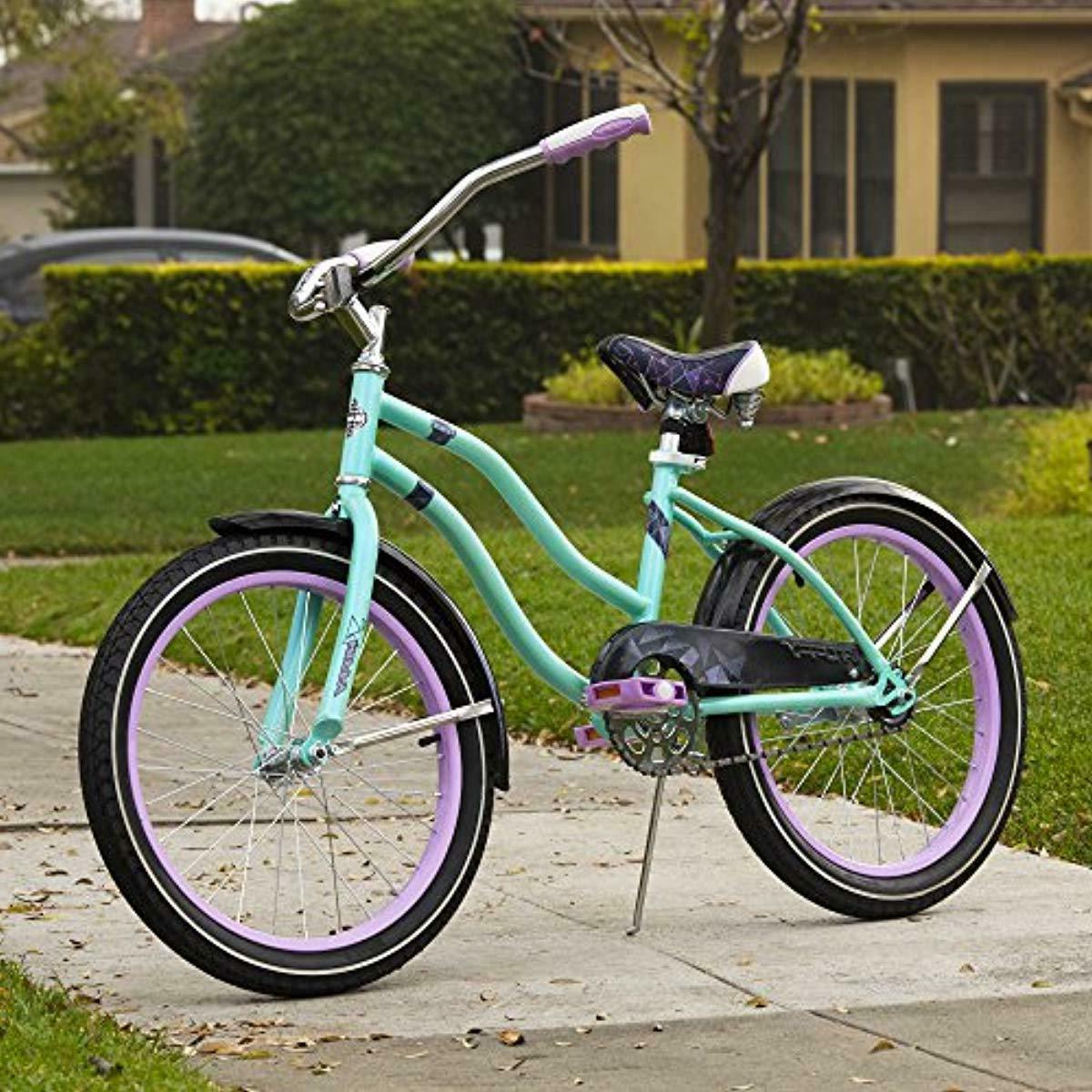 Huffy Kids Cruiser Bike Girls, 20 inch, Teal