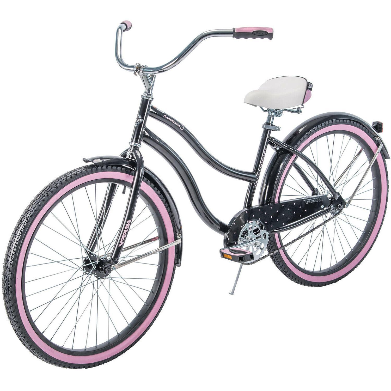 """Huffy Women's Cruiser Bike 26"""" Beach City Bicycle Comfort Ri"""