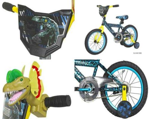 Dynacraft Jurassic World Bike 16'' Blue Custom Jurassic Worl