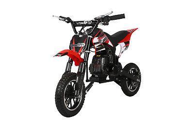 KIDS 49cc GAS Dirt Bike S/H RED H DAKAR