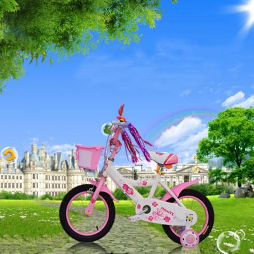 2pcs bike bicycle cycling tricycle kids girls boys handlebar streamers tasselsFL