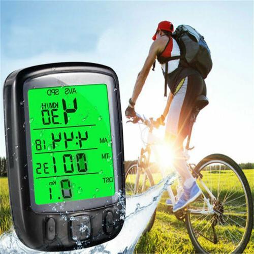 Waterproof Bicycle Backlight Odometer