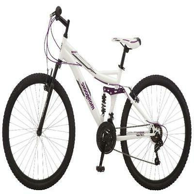 Mongoose Ledge Bike, speeds, frame, white