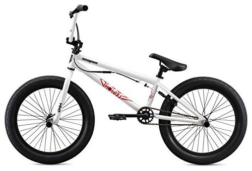 Mongoose Legion Boy's Freestyle Bike, Wheels