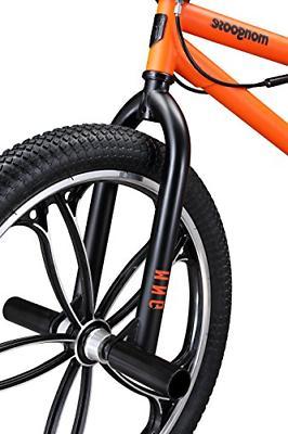 Mongoose Legion BMX 20-Inch Wheels, Orange