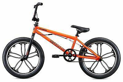 Mongoose Legion Wheel Freestyle Bike, Orange, One Size