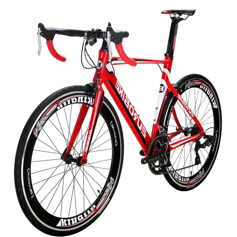 Light Road Bike Shimano Bikes Bicycle 54cm