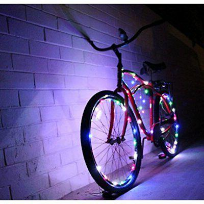 Lighting Parts & Accessories Bike Wheel Lights Colorful Light For