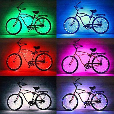 Lighting Parts Bike Wheel Colorful For