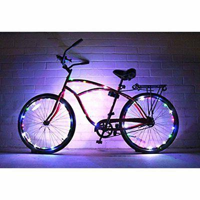 Lighting Bike Colorful