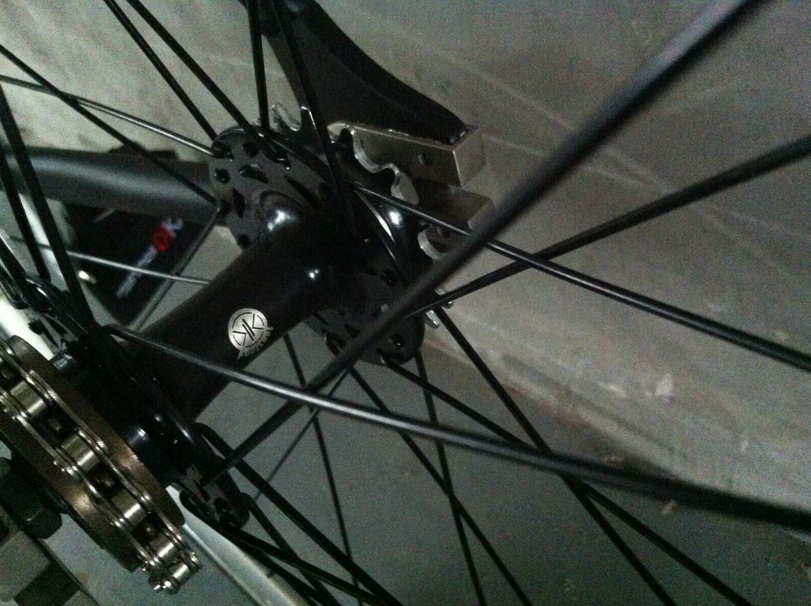 Kontrast Lightweight Aluminum Fixie Track 54CM,
