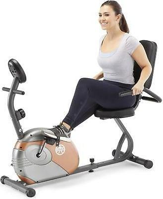 Magnetic Recumbent Bike Exercise Cardio Upright Cycling Indo