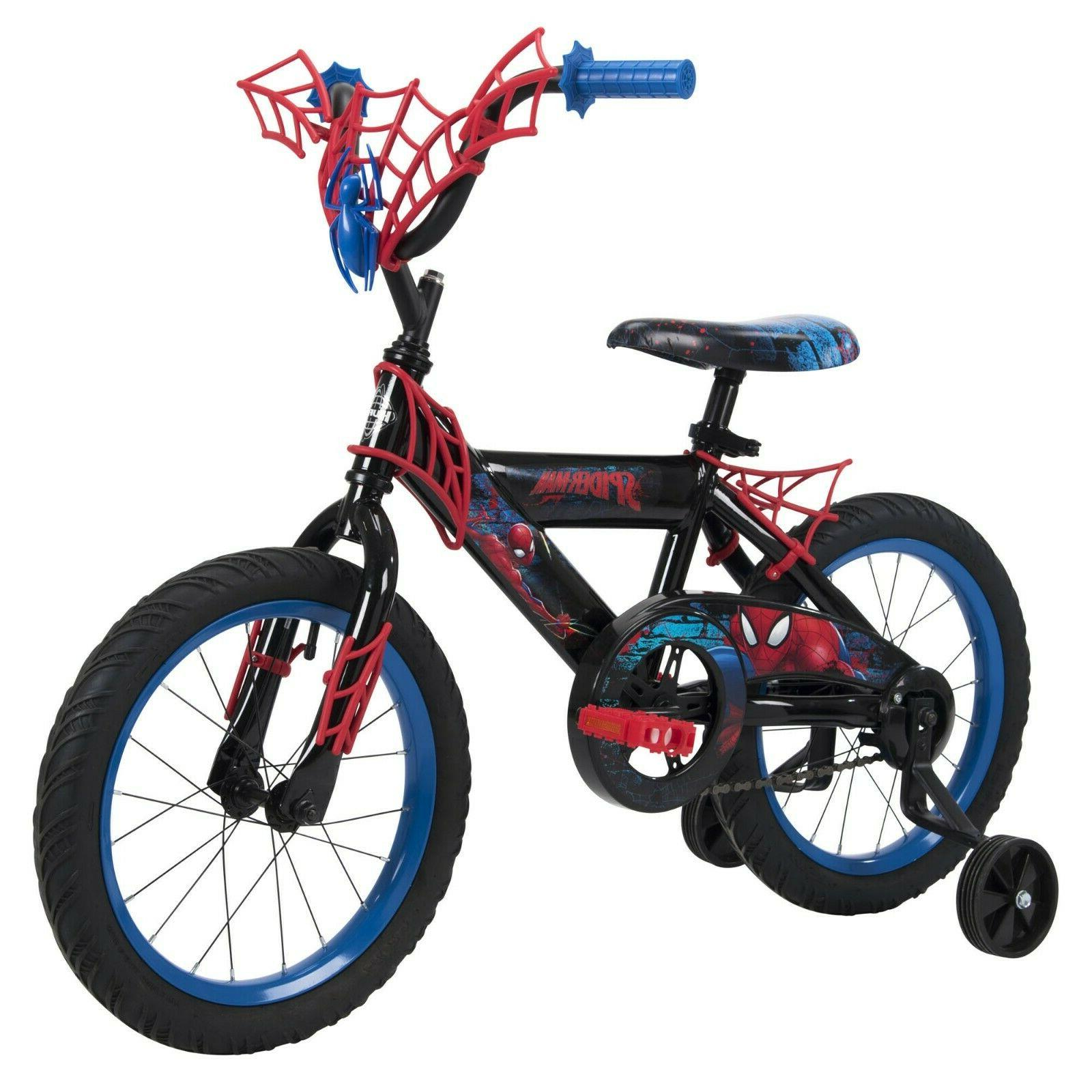 marvel spider man boys bike 16 inch