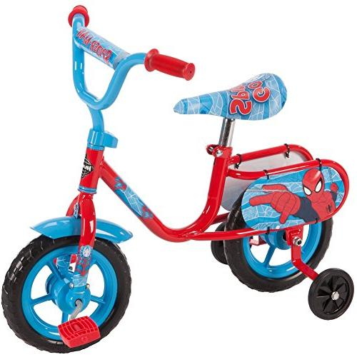 "10"" Huffy Marvel Spider-Man Boys' Pedal Cycle Bike New"