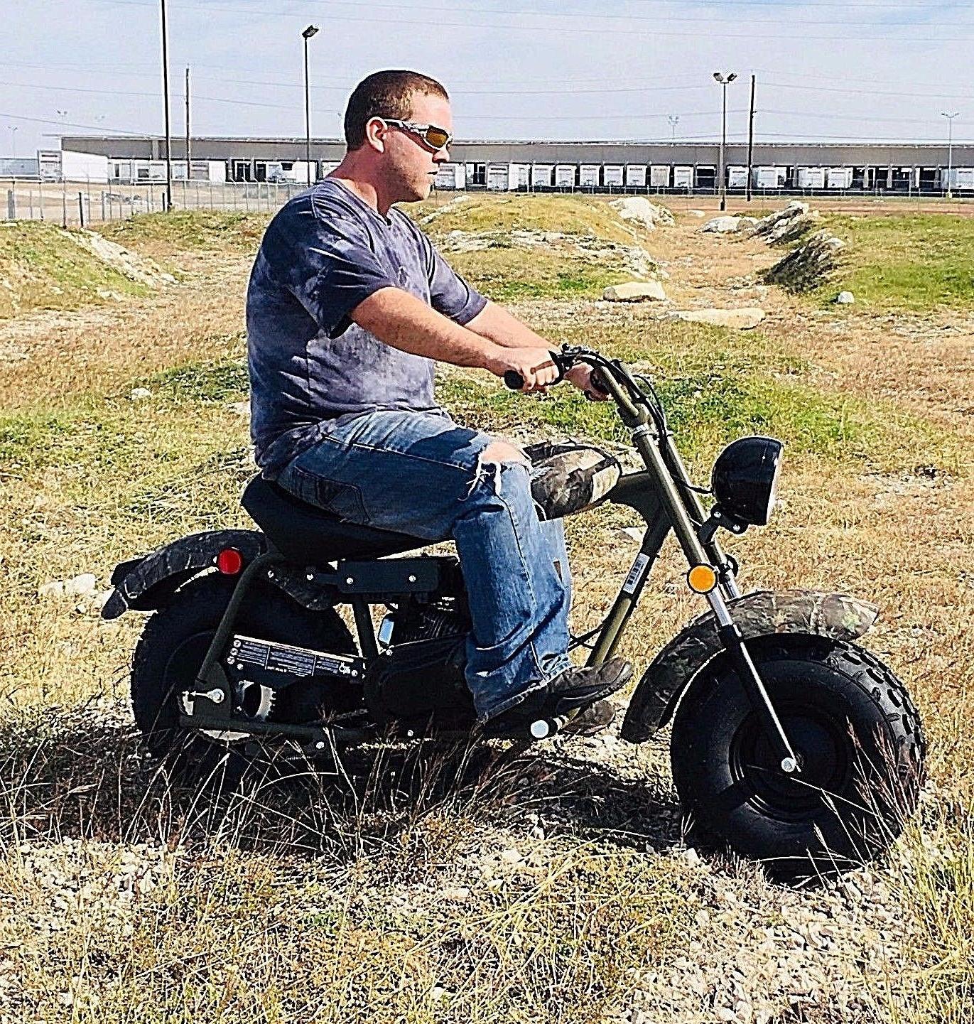 massimo mb200 supersized 196cc mini bike free
