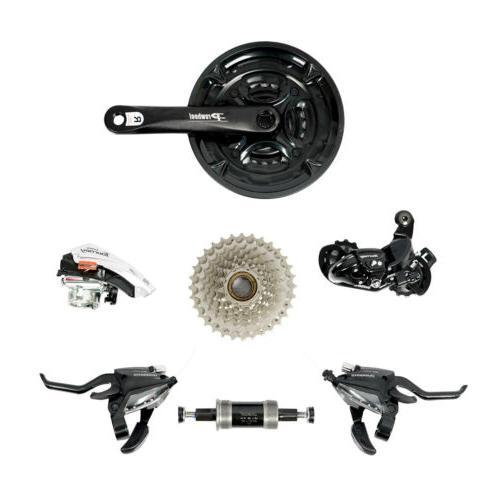 Men's Bike Mountain Bike Aluminum 24 Full Update