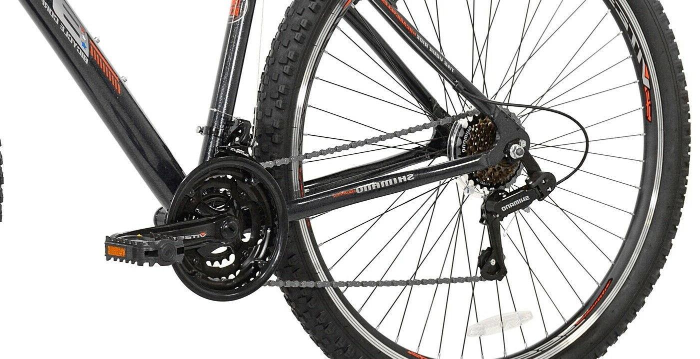 Men's Bike Aluminum Gray/Orange and Up