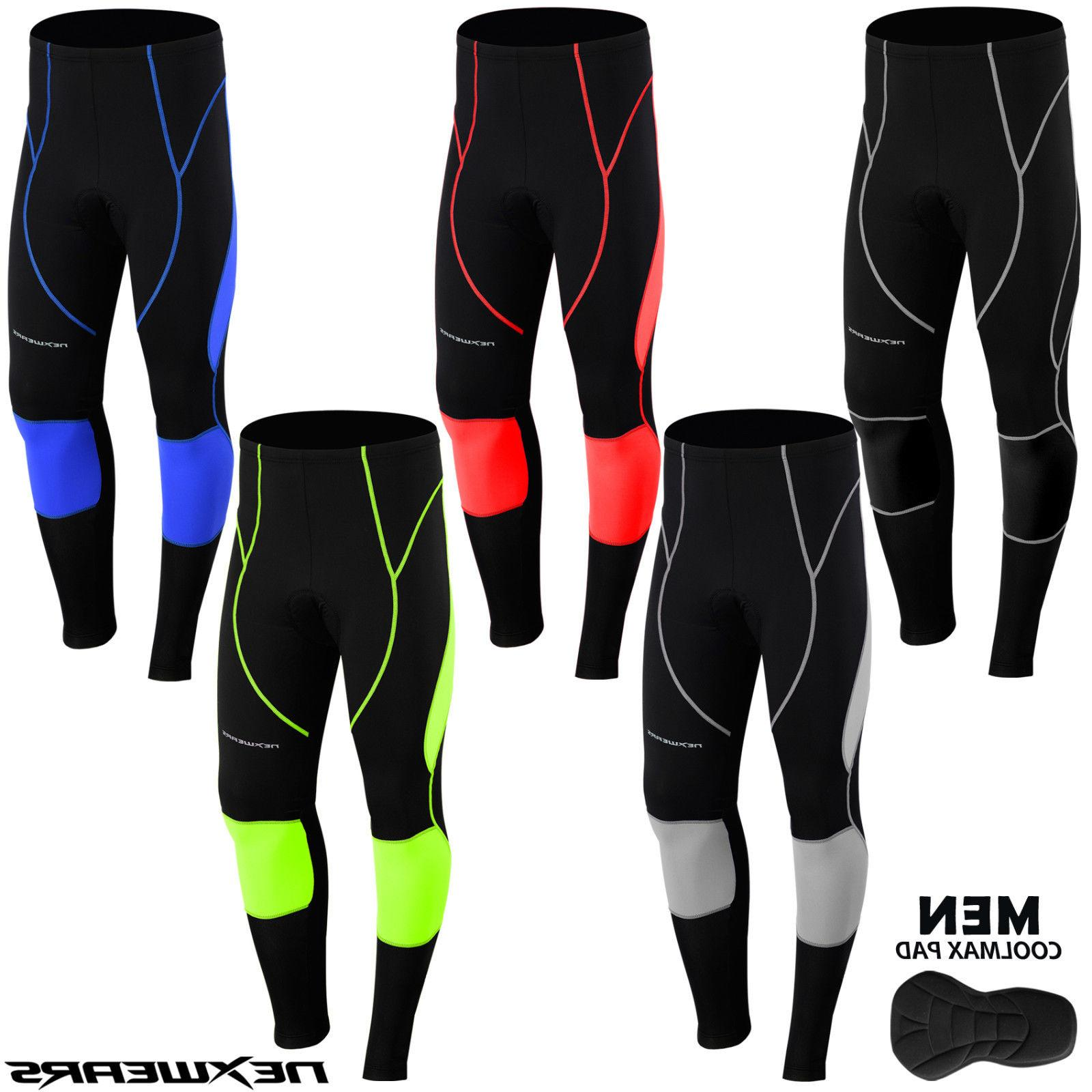 Men Thermal Winter Cycling Long Pants TightBicycle Bike Tigh