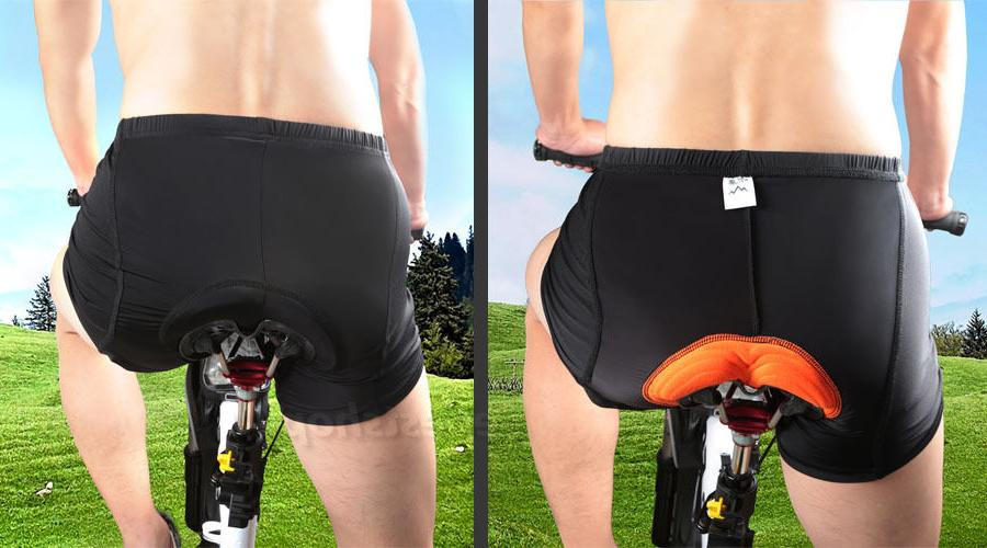 Mens Cycling Shorts Bicycle Road Bike 3D Padded Underwear/Sh