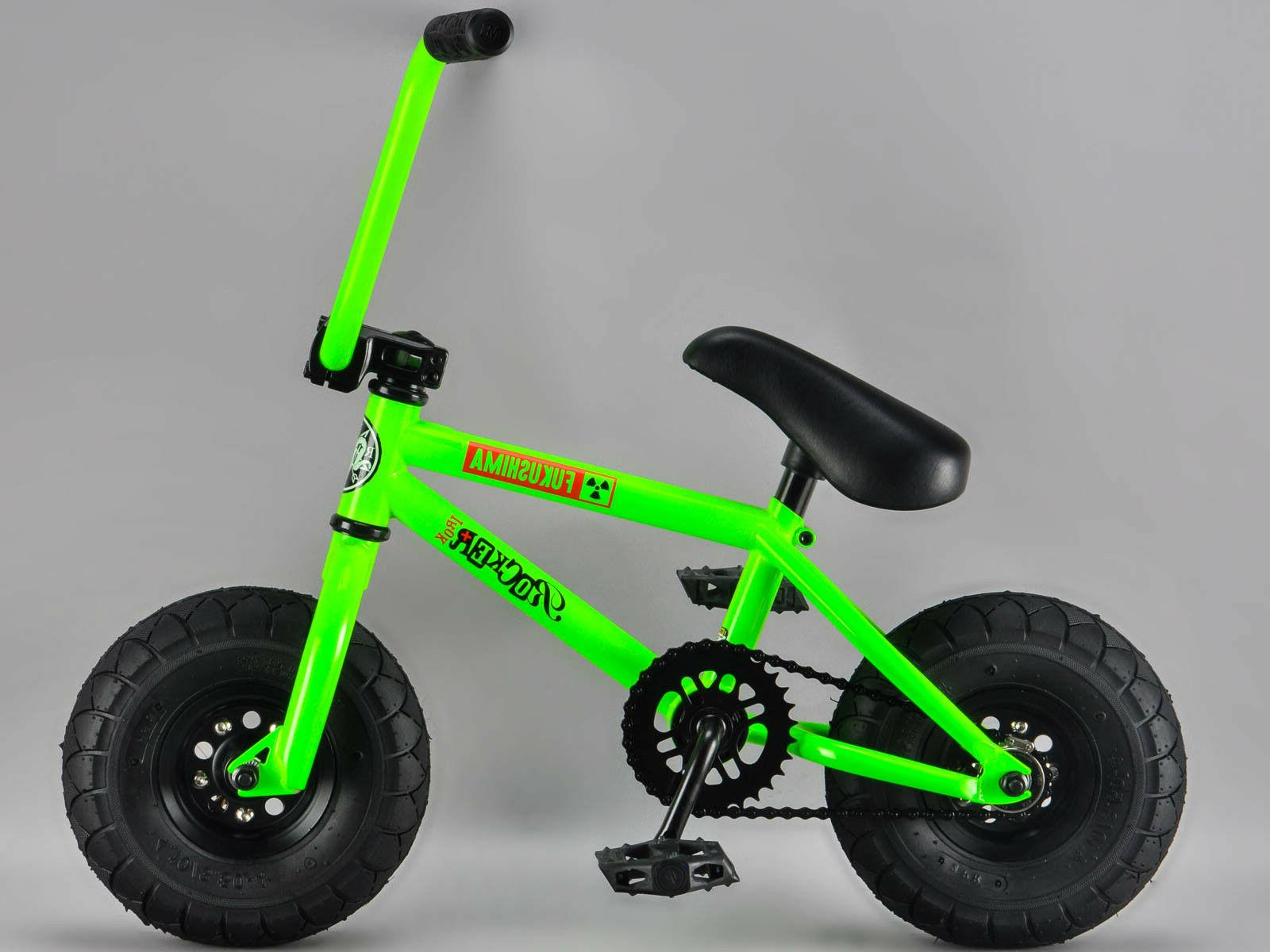 *GENUINE ROCKER* - FUKUSHIMA iROK+ BMX RKR Mini BMX Bike GLO