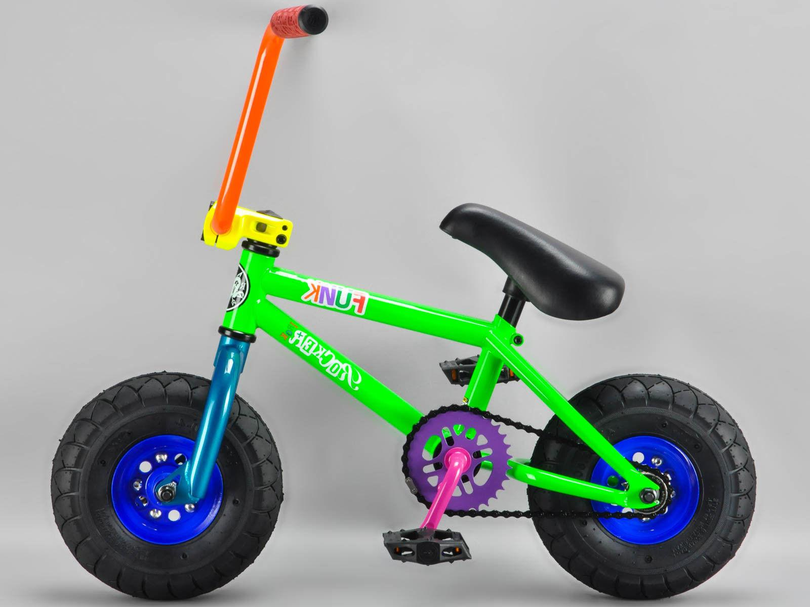 *GENUINE ROCKER* - FUNK iROK+ BMX RKR Mini BMX Bike