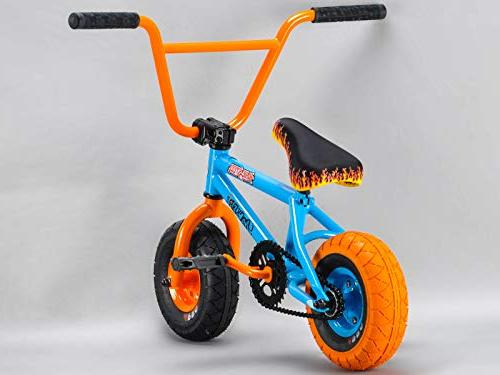 Rocker BMX Bike iROK+ Blue Steel RKR
