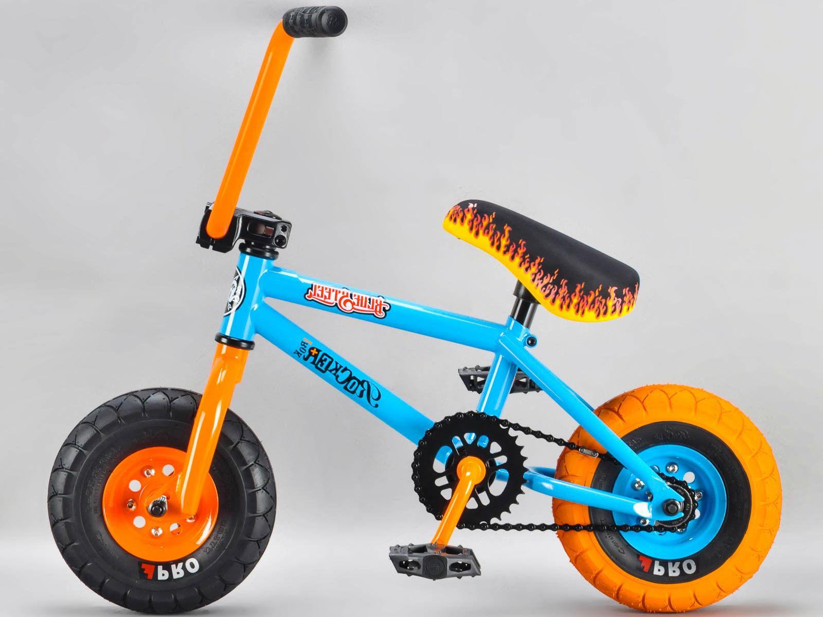 mini bike irok blue steel