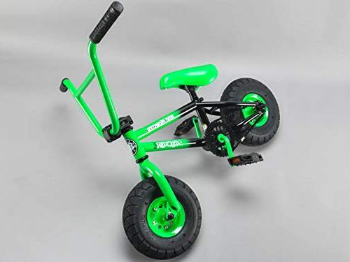 Rocker BMX Bike iROK+ Mini Monster Green RKR