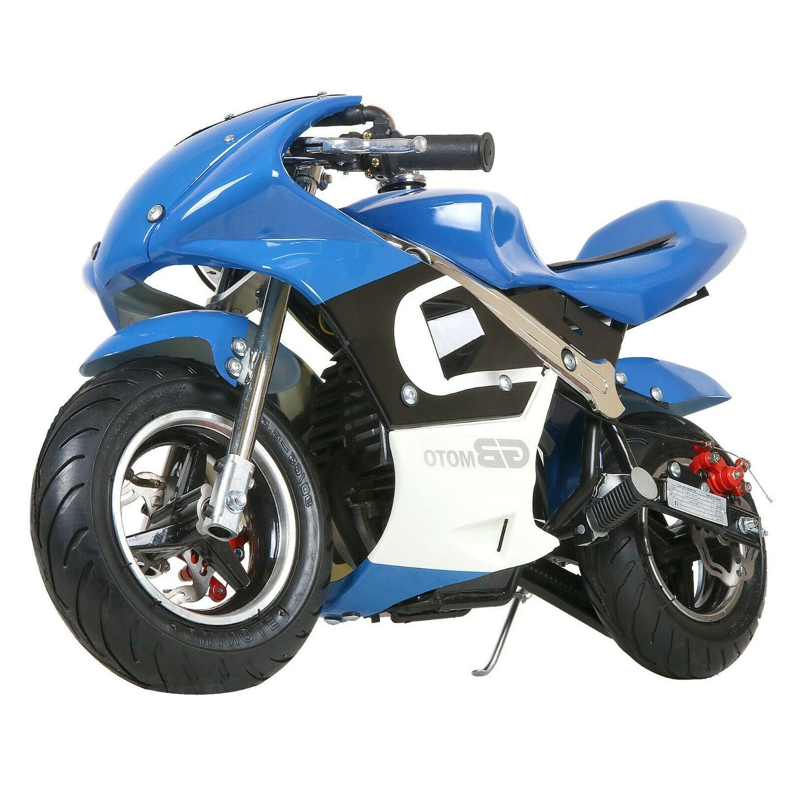 mini gas power pocket bike motorcycle 40cc