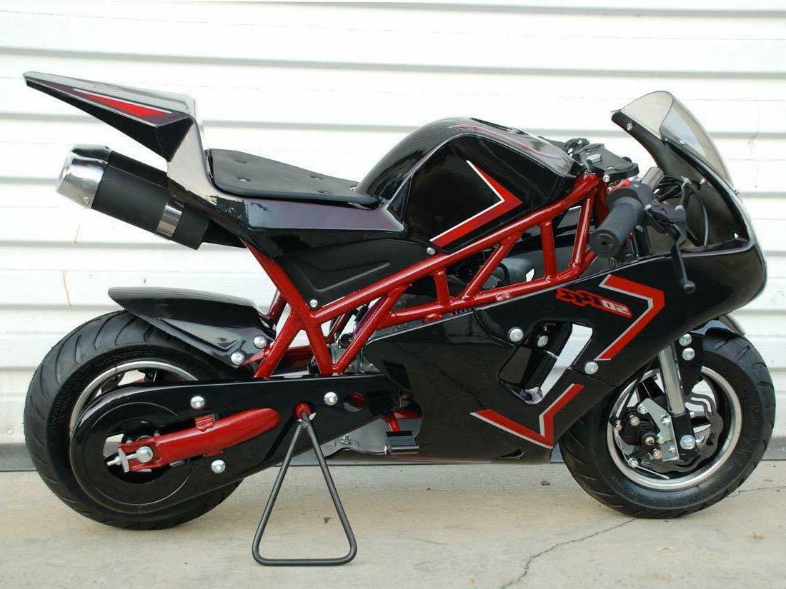Mini Pocket Rocket Bike Gas Powered 49cc kids mini motorcycl