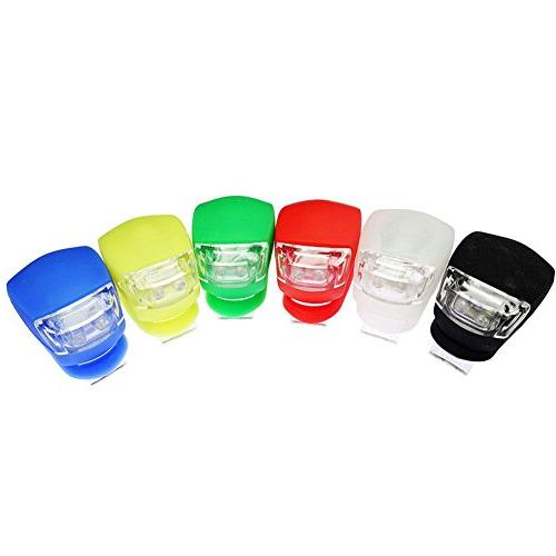 InnoLife- 6Pcs Mixed Color Set Silicone Waterproof Super Fro