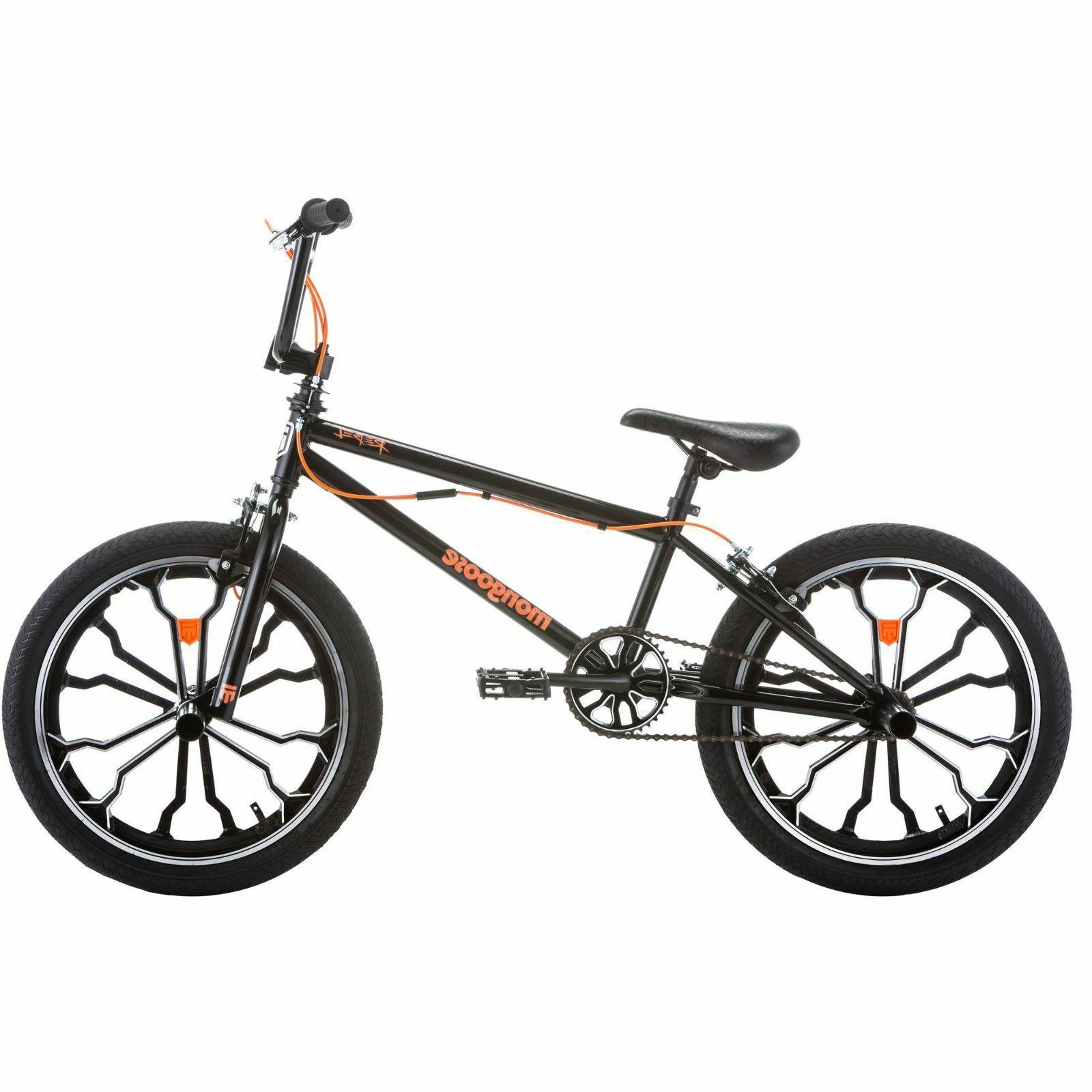 Mongoose 20 Inch BMX Freestyle Bike For Boys Girls Men Kids