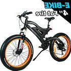 Yes2yeah MOTAN Fat Tire 500W Mountain Electric Bicycles Fork