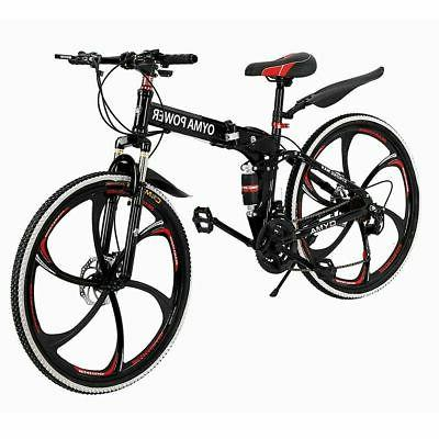 mountain bike 21 speed 26 inch folding
