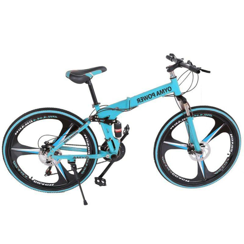 26in Bike Bicycle Suspension MTB Foldable