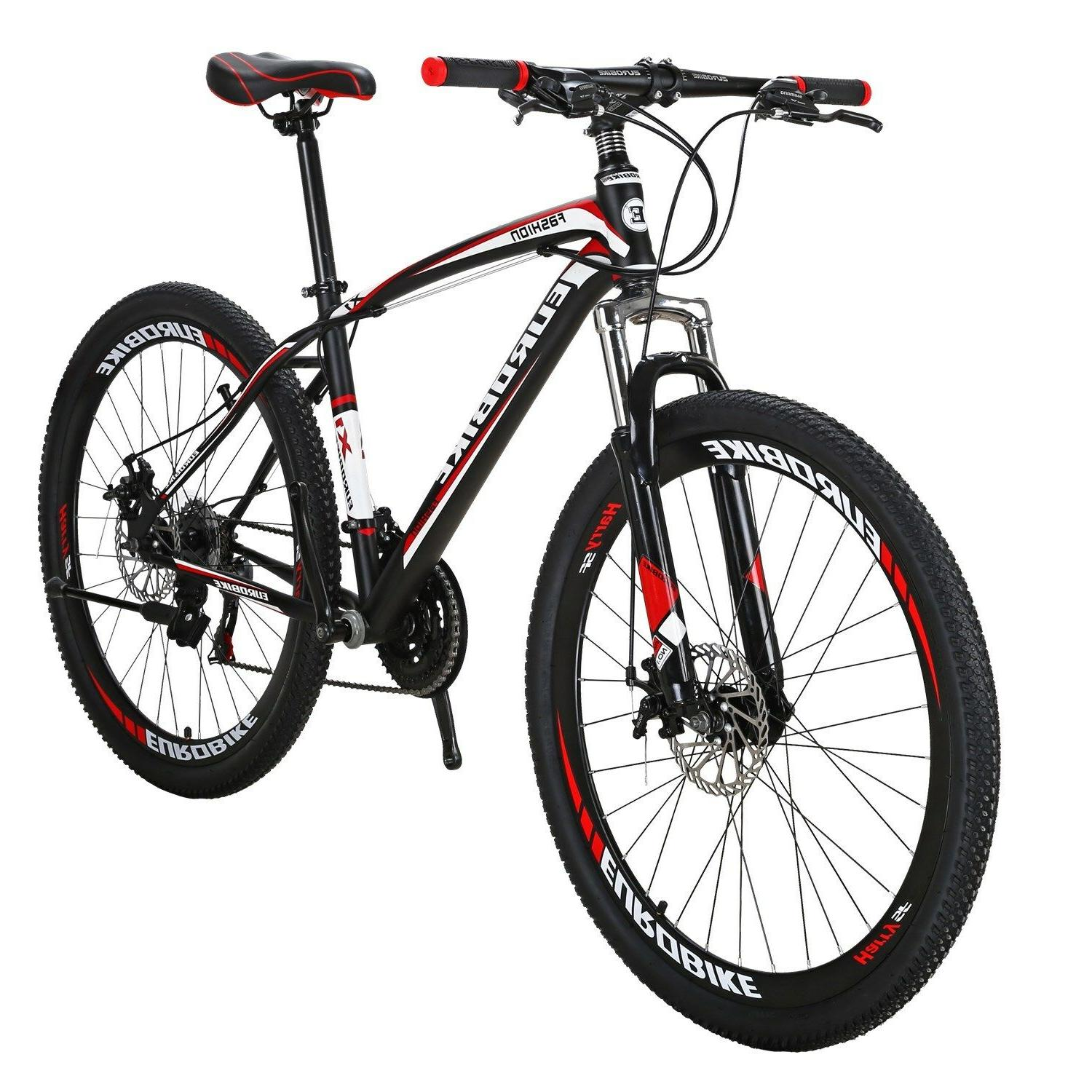 """EUROBIKE Bike 27.5"""" Bicycle Speed Brakes Front Suspension"""