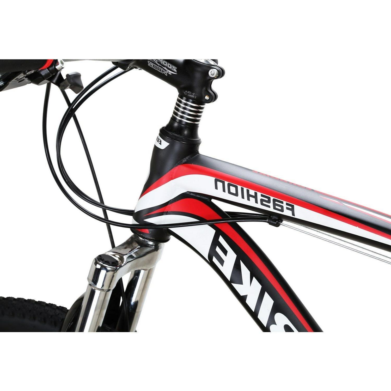 """EUROBIKE Mountain 27.5"""" Bicycle 21 Brakes Suspension MTB"""