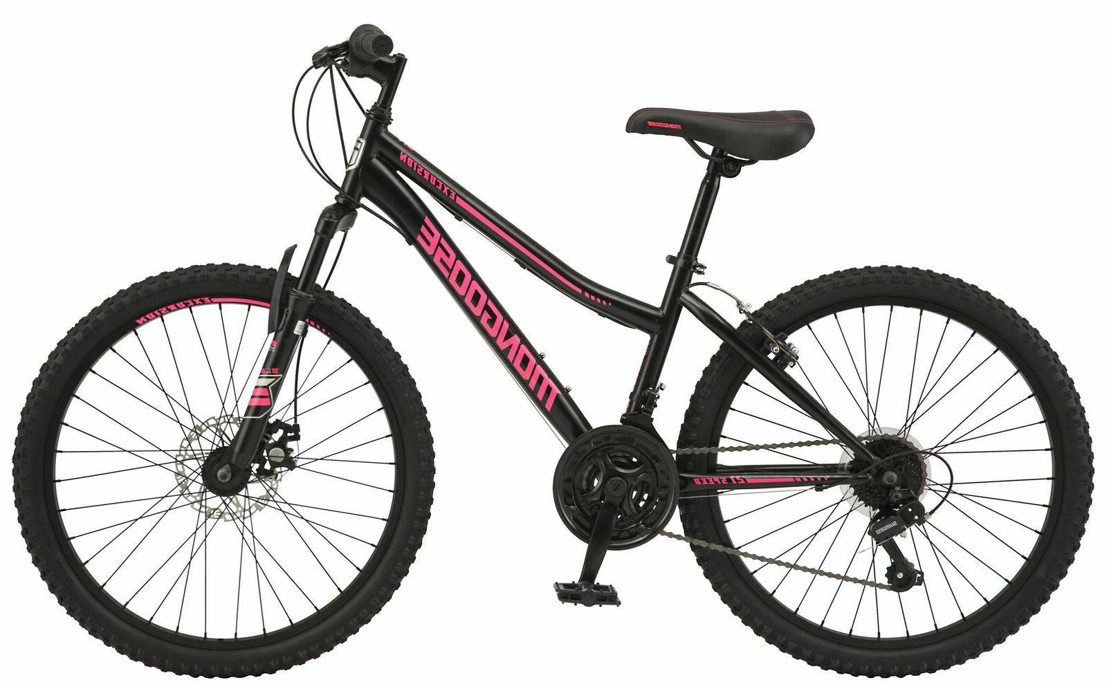 """26"""" Womens Mountain Bike Bicycle Front Suspension Steel Fram"""
