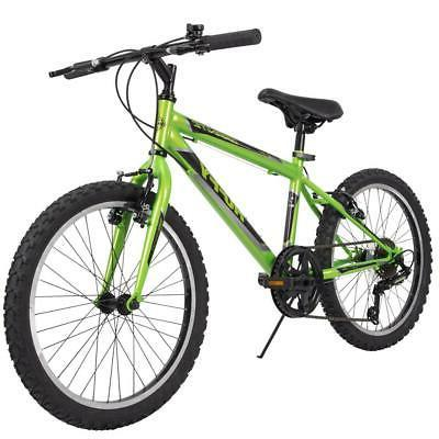 mountain bike boys 20 inch green 5