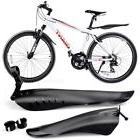 New Mountain Bike Cycling Bicycle Front Rear Plastic Mudguar