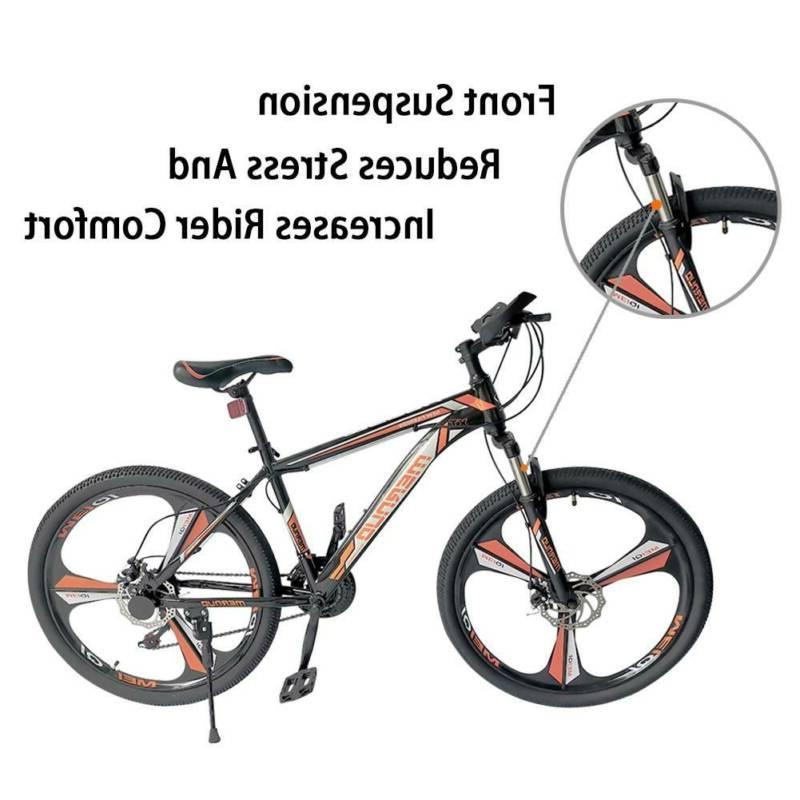 Mountain Bike Men's Wheels Bicycle Orange