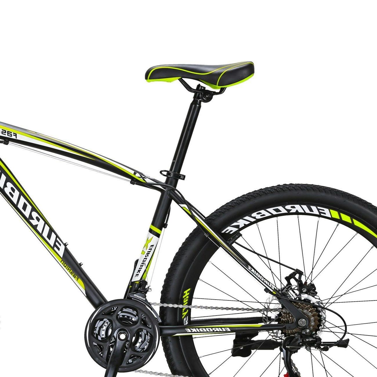 Mountain Front Shimano Speed Mens Bikes L