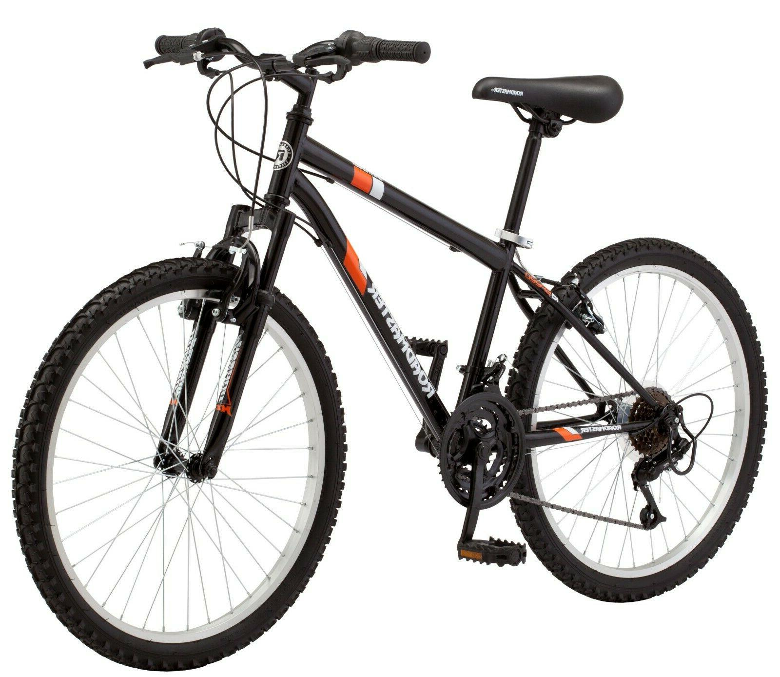 "Mountain Bike Roadmaster Granite Peak Boy's Bicycle 24"" whee"