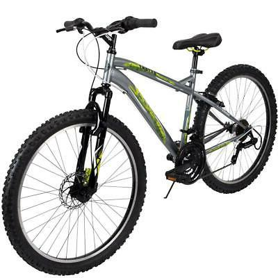 mountain bike mens 26 inch silver 18