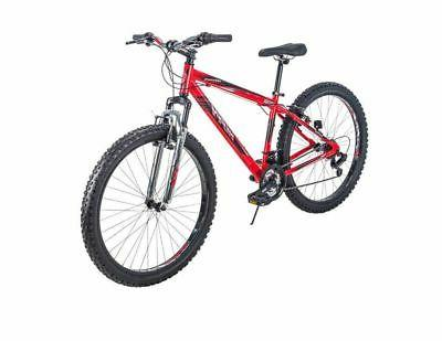 Huffy Mountain Bike Mens Aluminum 27.5 Inch 21 Speed Red NEW