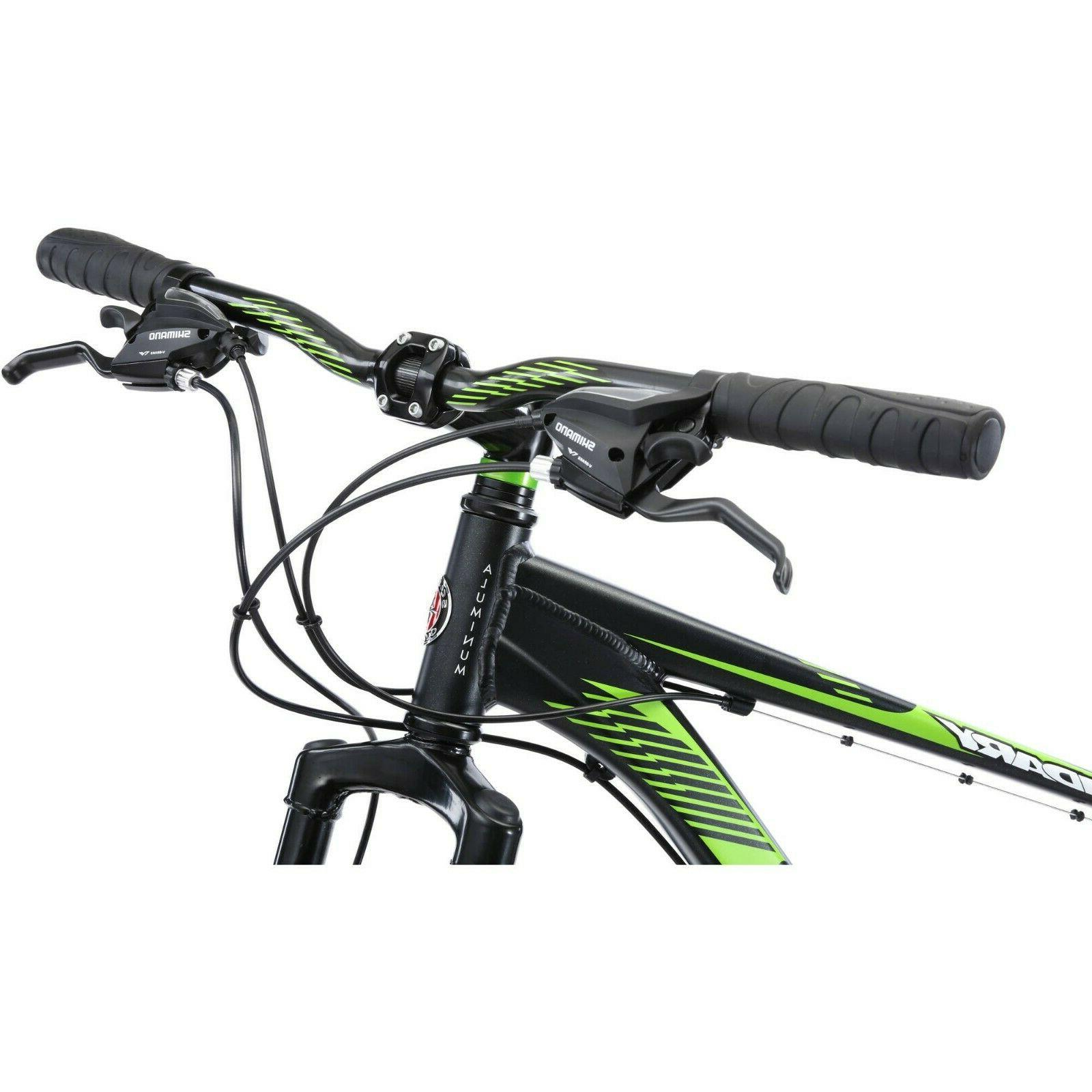 Mountain Bike Mens Schwinn Rugged Off Road Tires 29 Inch 21 Speed Bicycle Large