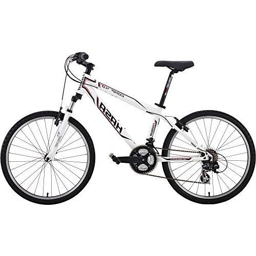 HASA Kids Mountain Bike Shimano 21 Speed 24 inch Alloy Black