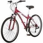 """26"""" Women's Schwinn Mountain Bike Steel Frame 21 Speed Red S"""